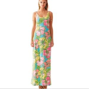 Lilly Pulitzer Palm Maxi Tank Dress